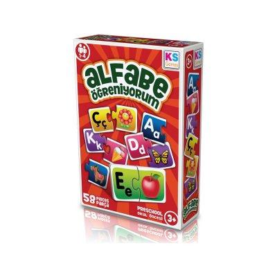 Alfabe Öğreniyorum Ks Games 013