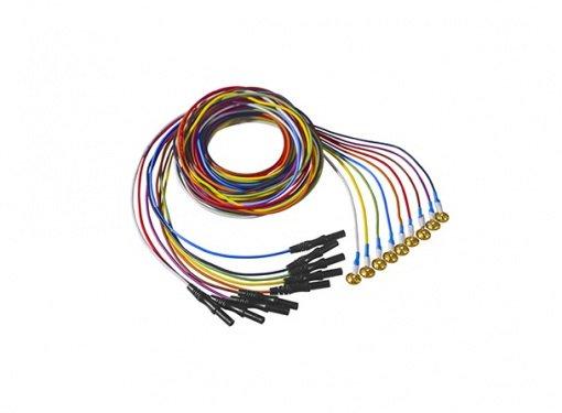 Altın Uçlu EEG Elektrodu KNGMED 12li