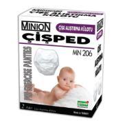 Çişe Alıştırma Külodu Minion Çişped MN 206 Medium 10-15kg 2li