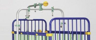 Çocuk Karyolası Inspiration Cot Beşik Çekme Sistemi TRACT/PAED
