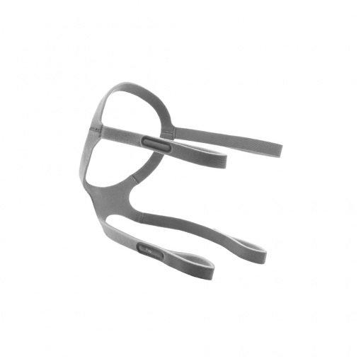 CPAP-BPAP Maskesi 4 Kollu Kafa Bandı Sesan CBMKB-002 Gri
