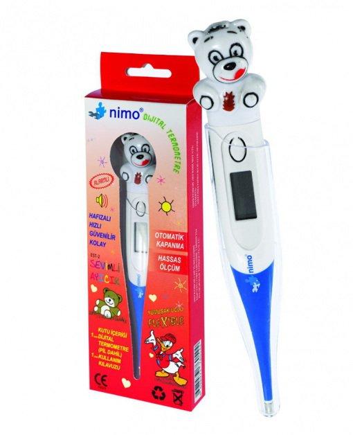 Dijital Ateş Ölçer (Termometre) Nimo EST-2