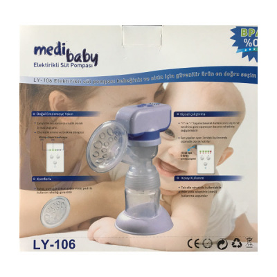 Elektrikli Tekli Göğüs Pompası Medibaby LY-106