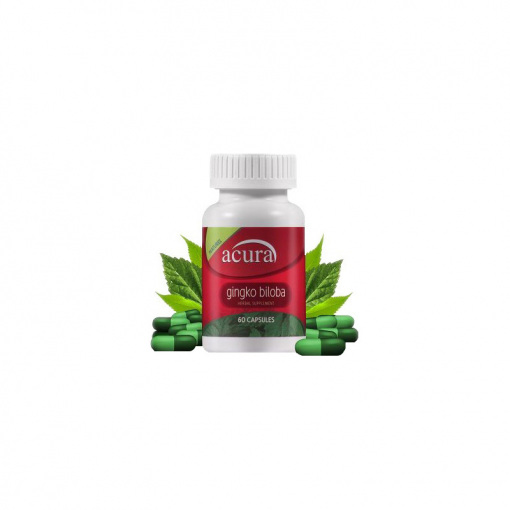 Ginkgo Biloba Gıda Takviyesi Acura AC-7717 60 Kapsül