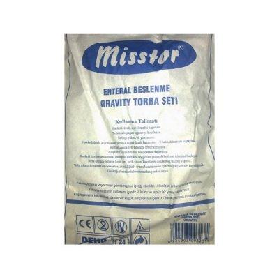 Gravity Enteral Beslenme Seti Misstor M-36 1200ml