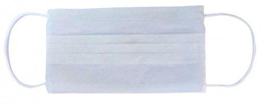 Lastikli (Cerrahi) Maske Beybi 24.06501 Beyaz 2 Katlı 50li