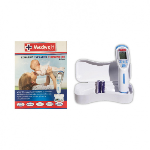 Temassız Ateş Ölçer (Termometre) Medwelt RC-008