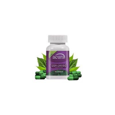 Üzüm Çekirdeği Gıda Takviyesi Acura AC-7721 60 Kapsül
