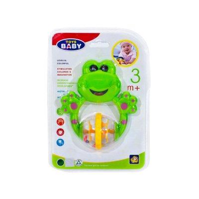 Asorti Çıngıraklı Kurbağa Toys Baby 7788-D2