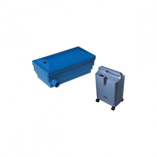 Pall Oksijen Konsantratörü Filtresi Philips Respironics Everflo GF-800 Mavi
