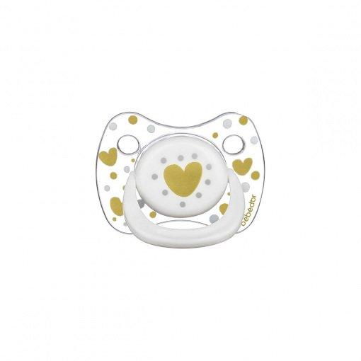 Silikon Emzik Bebedor Tritan Crystal 172 Beyaz