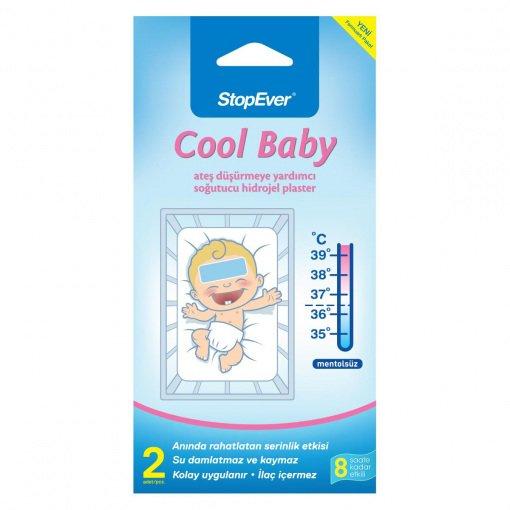 Soğuk Kompres Stopever Coolbaby Ateş Düşürücü 2li