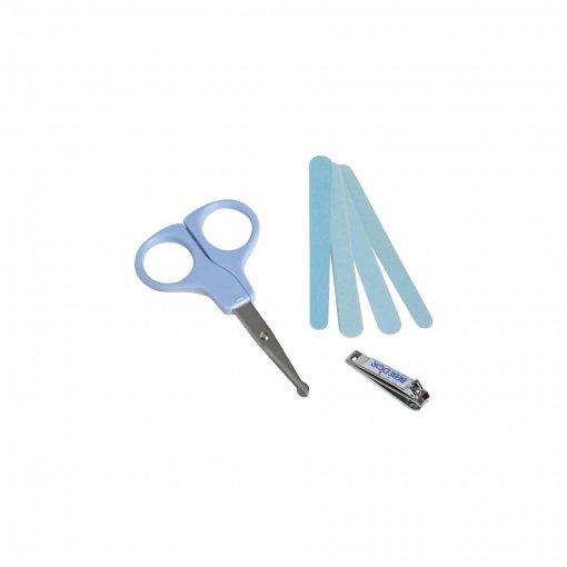 Yuvarlak Uçlu Tırnak Bakım Seti Bebedor 550 Mavi
