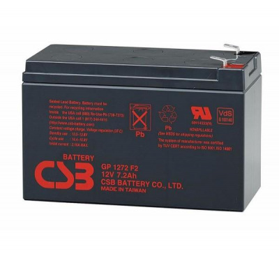 12Volt 7.2AH Batarya CSB GP1272 F2