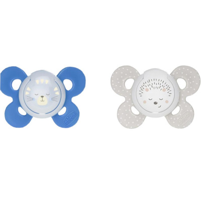 16-36 Ay Gece Ve Gündüz Emziği Chicco Physio Comfort 00074935420000 Mavi