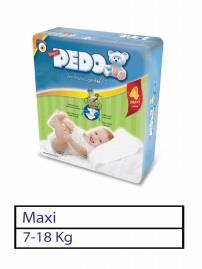 Bebek Bezi Pedo Maxi 55008 No: 4 10lu