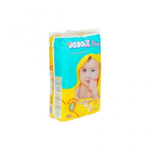 Bebek Bezi Pedo Plus Mini 55001 No: 2 40lı