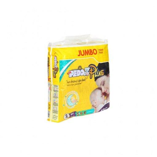 Bebek Bezi Pedo Plus Mini 55051 Jumbo No: 2 62li