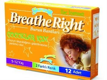 Burun Bandı Breathe Right Çocuk