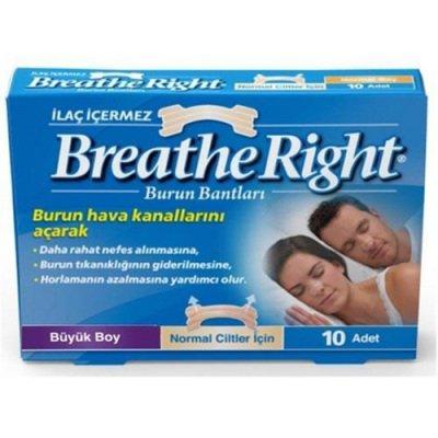 Burun Bandı Breathe Right Klasik Büyük Boy