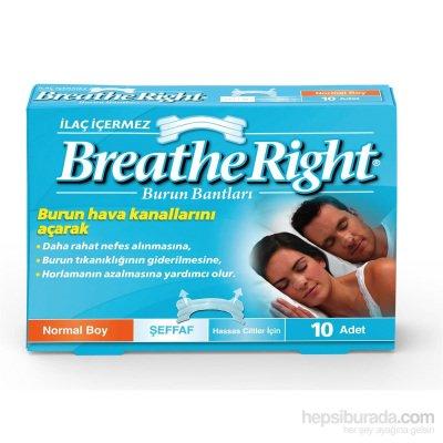 Burun Bandı Breathe Right Şeffaf