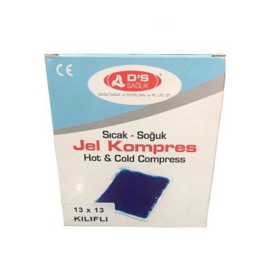 13x13cm Sıcak Soğuk Termo Jel Kompres DS Sağlık JKK01