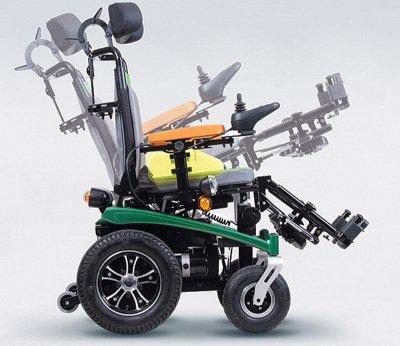 Çocuk Akülü Tekerlekli Sandalye Scrubby 1220/1420