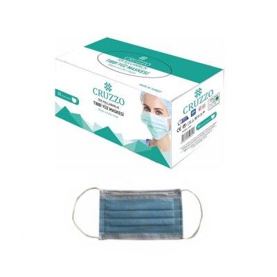 Çocuk Cerrahi Maske Cruzzo CRM01C Mavi 3 Katlı 10lu