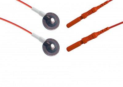 Gümüş Uçlu EEG Elektrodu Technomed TE/C12-634 12li