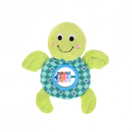 Hayvan Figürlü Peluş Çıngırak B.Baby S1216318 Kaplumbağa