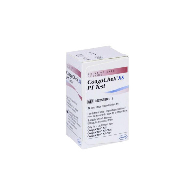 Kan Pıhtılaşma Hızı (PT/INR) Test Stribi Roche CoaguChek XS 04625358 24lü