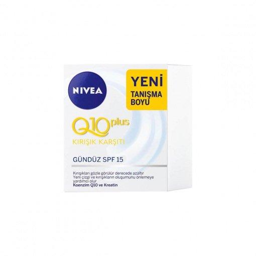 Kırışıklık Karşıtı Gündüz Kremi Nivea Q10 Plus 20ml