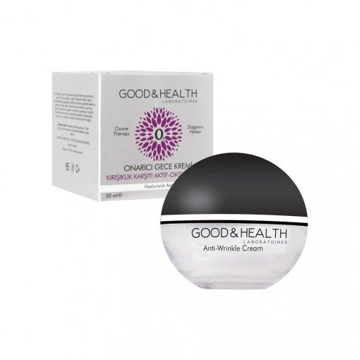 Ozonlu Kırışıklık Karşıtı Gece Kremi Good-Health Ozone Therapy 50ml