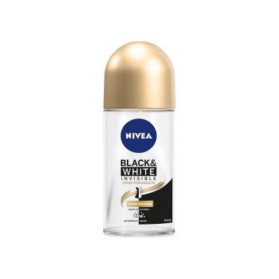 Roll-On Deodorant Nivea Black-White Invisible İpeksi Pürüzsüzlük 50ml