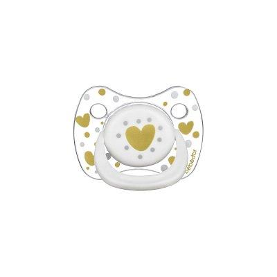 Silikon Emzik Bebedor Tritan Crystal 173 Beyaz