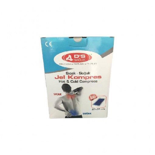 27x35cm Sıcak Soğuk Termo Jel Kompres DS Sağlık JKK03