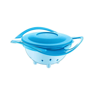 +6 Ay Sihirli Dökülmeyen Tabak Babyjem ART-350 Mavi