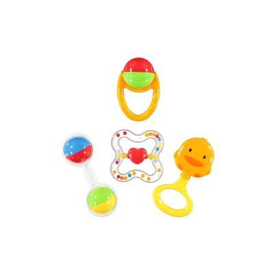 Çıngıraklı Oyun Seti Baby 4 Parça 603C Turuncu