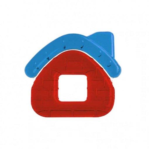 Yumuşak Uçlu Sulu Dişlik Bebedor 517 Kırmızı Ev