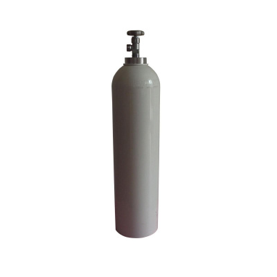 1 Litre Vanalı Çelik Oksijen Tüpü Sesan OT-013