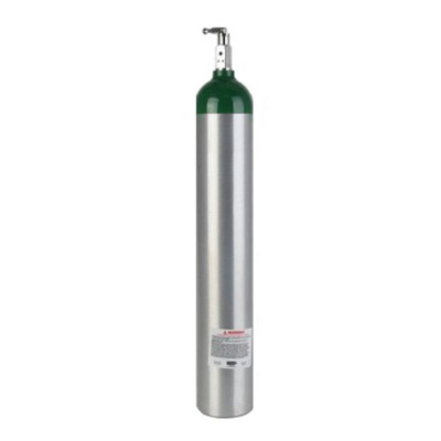 10 Litre Pin Index Alüminyum Oksijen Tüpü Sesan OT-018