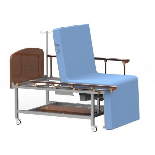 3 Motorlu Oturma Pozisyonlu Hasta Karyolası Seatbed MC-3500