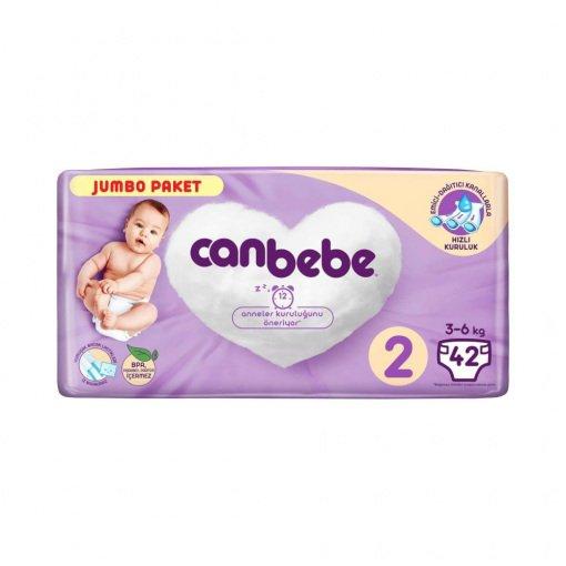 Bebek Bezi Canbebe Jumbo Mini No: 2 42li