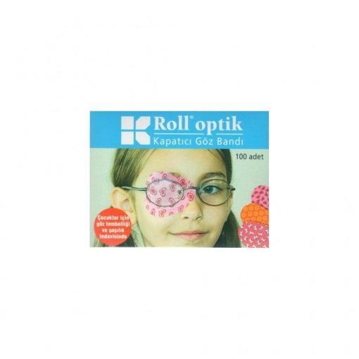 Yapışkanlı Göz Kapama Bandı Roll Optik 100lü
