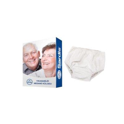 Yıkanabilir PVC Hasta Külodu Sardis Small 30-45kg